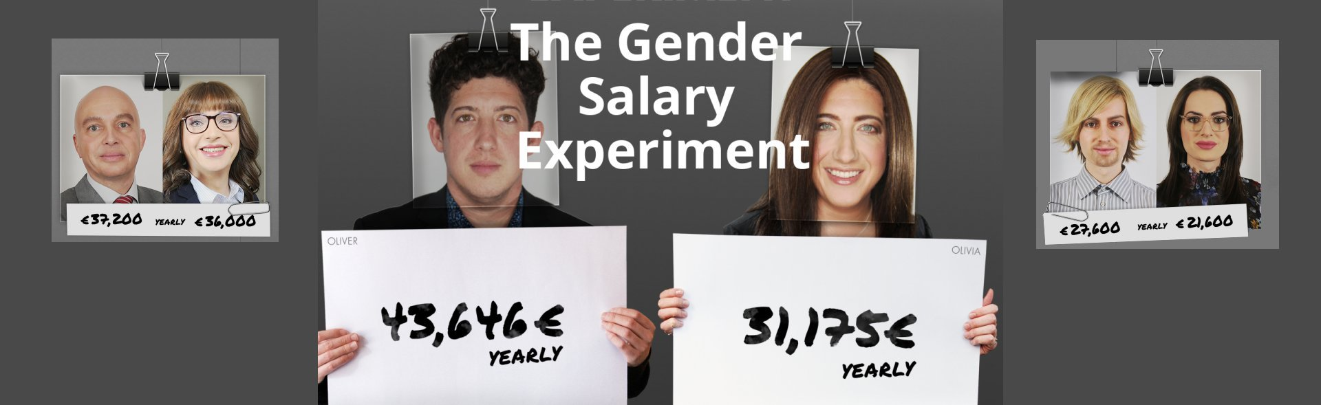 Das Gender Pay Gap Experiment