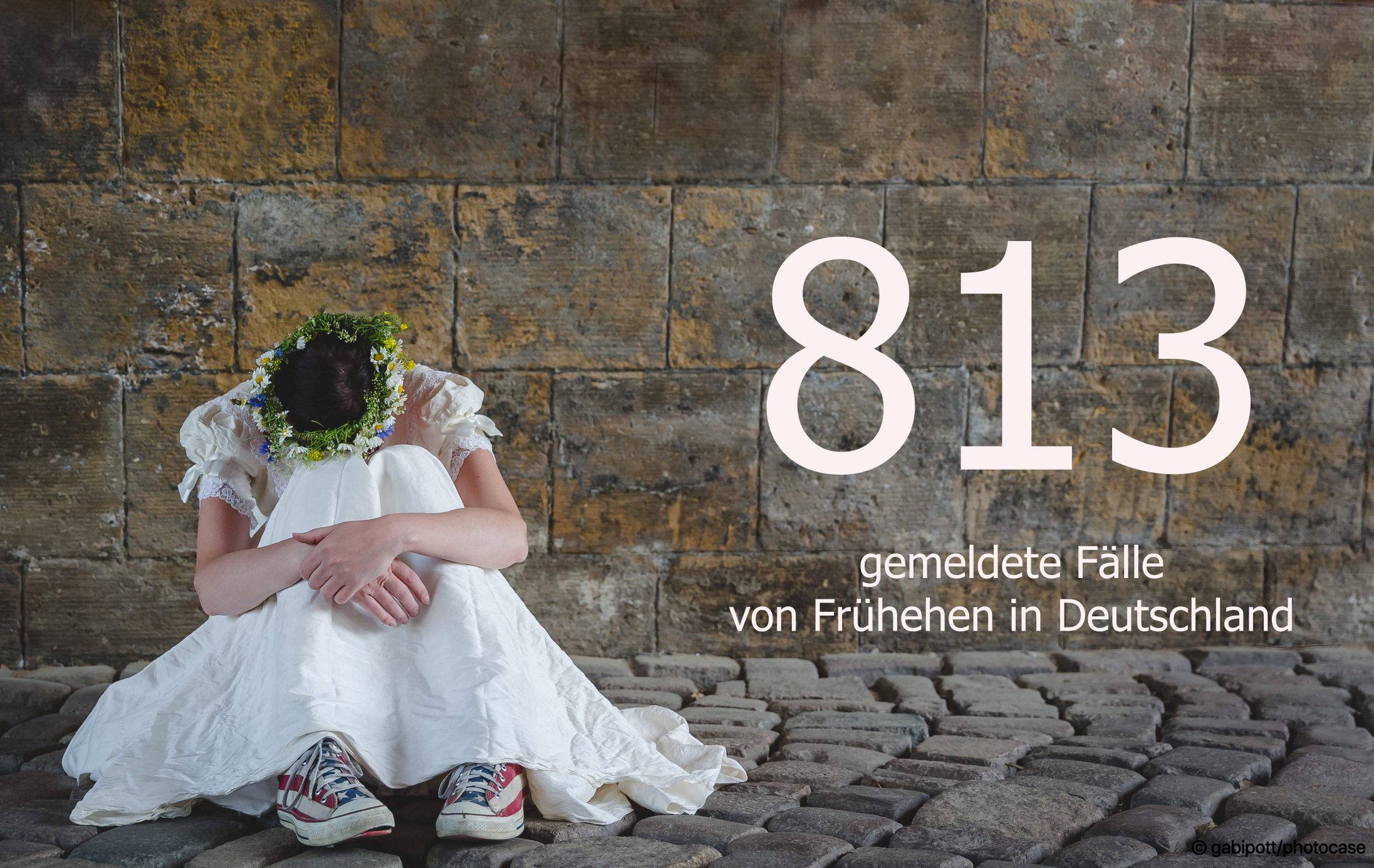 Frühehen: Es ist von 813 Fällen auszugehen. © TERRE DES FEMMES