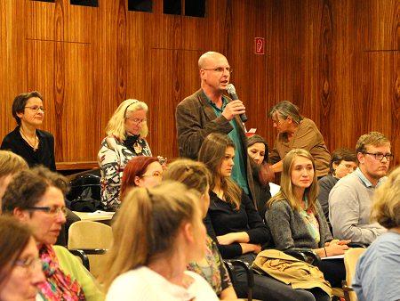 Fragen aus dem Publikum. Foto: © Terre des Femmes e.V.