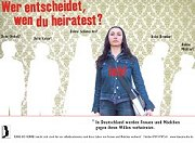 TERRE DES FEMMES-Plakataktion an Schulen