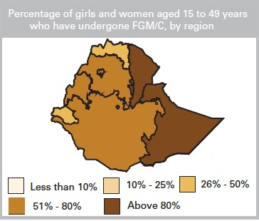 © UNICEF Data: Monitoring the Situation of Children and Women. 2013. Country Profile: Äthiopien.