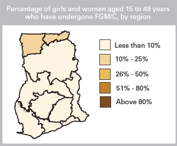 © UNICEF Data: Monitoring the Situation of Children and Women. 2013. Country Profile: Ghana.