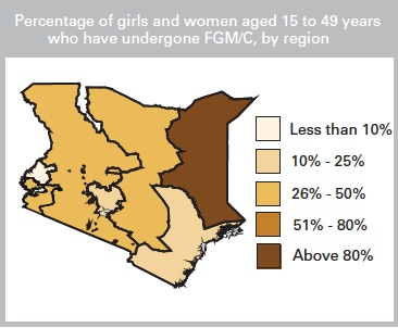 © UNICEF Data: Monitoring the Situation of Children and Women. 2016. Country Profile: Kenia.