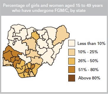 © UNICEF Data: Monitoring the Situation of Children and Women. 2014. Country Profile: Nigeria.