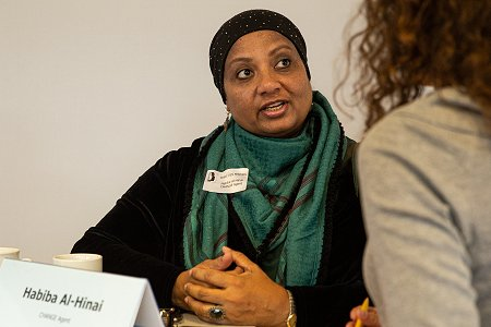 CHANGE Agent Habiba Al-Hinai. Photo: © Martin Funck