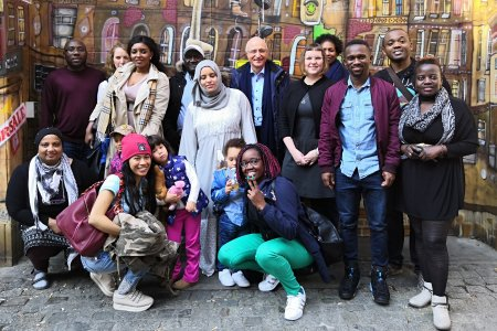 CHANGE Agents nach einem Training mit Dr. Zerm in Berlin. Foto: © TERRE DES FEMMES