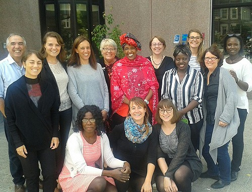 Participants of the Coordination Meetings in Amsterdam. Photo: © TERRE DES FEMMES