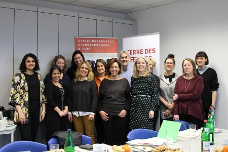 Gender abc Meeting in March 2019. Photo: © TERRE DES FEMMES