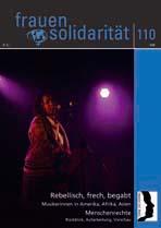 Titel der Zeitschrift Frauensolidarität 110