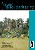 Titel der Zeitschrift Frauensolidarität 112